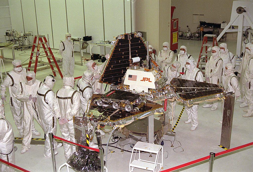 Mars Pathfinder on Earth