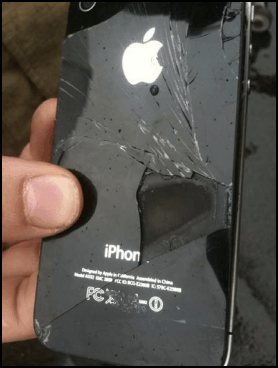 Iphone 4 in fiamme