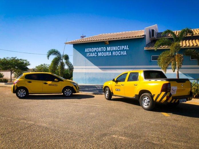 Fachada Aeroporto de Guanambi BA - INFRACEA