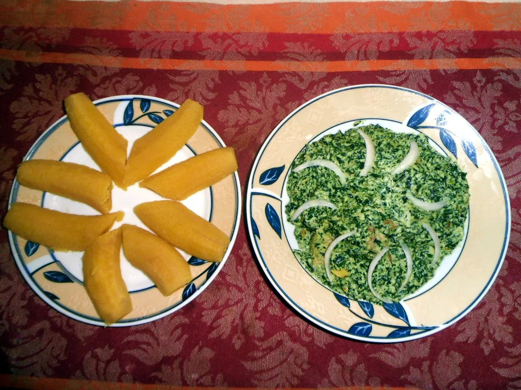 The national dish of Cameroon - Ndole