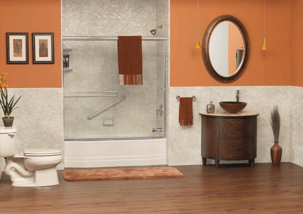 one piece bath fitter tub wall surround