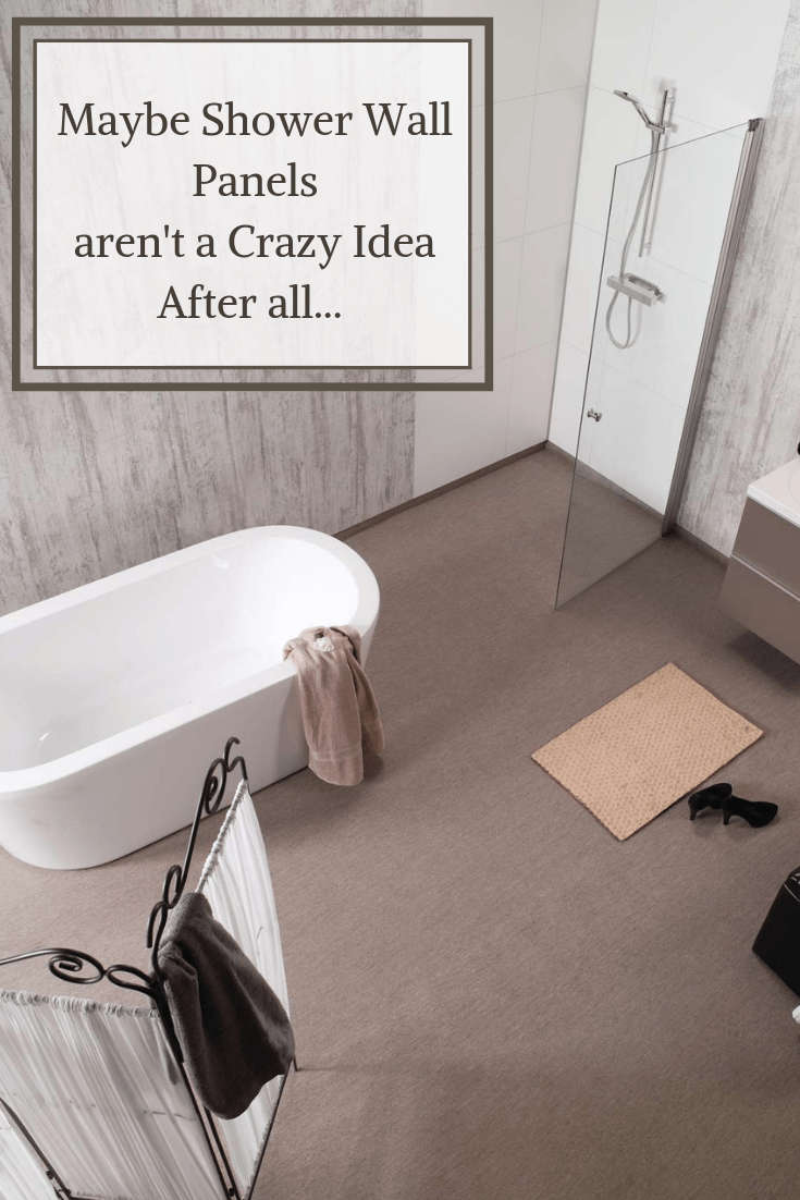 grout free shower and bathroom wall