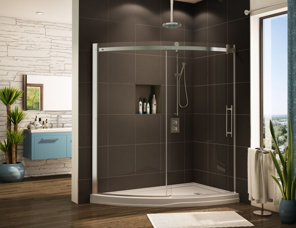 Acrylic Round Curved Cool Shower Base Pan Systems