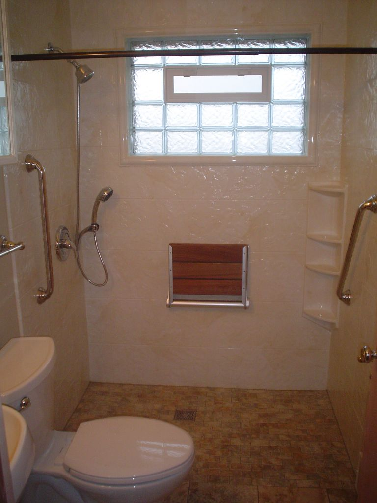 Barrier Free Curbless Shower Bases Amp Design Cleveland
