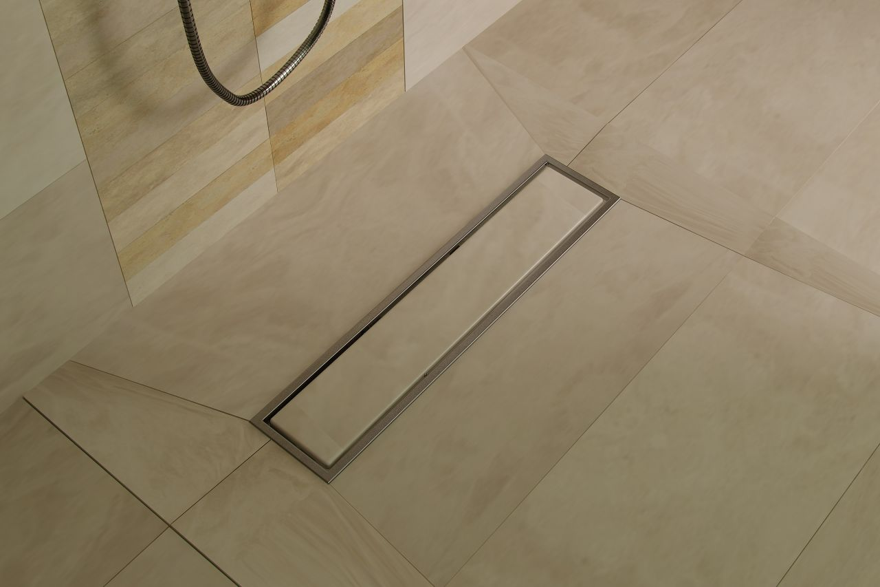 i hate grout joints in the shower