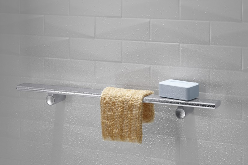 3 Innovative Shower Storage Products For A Luxury Bathroom