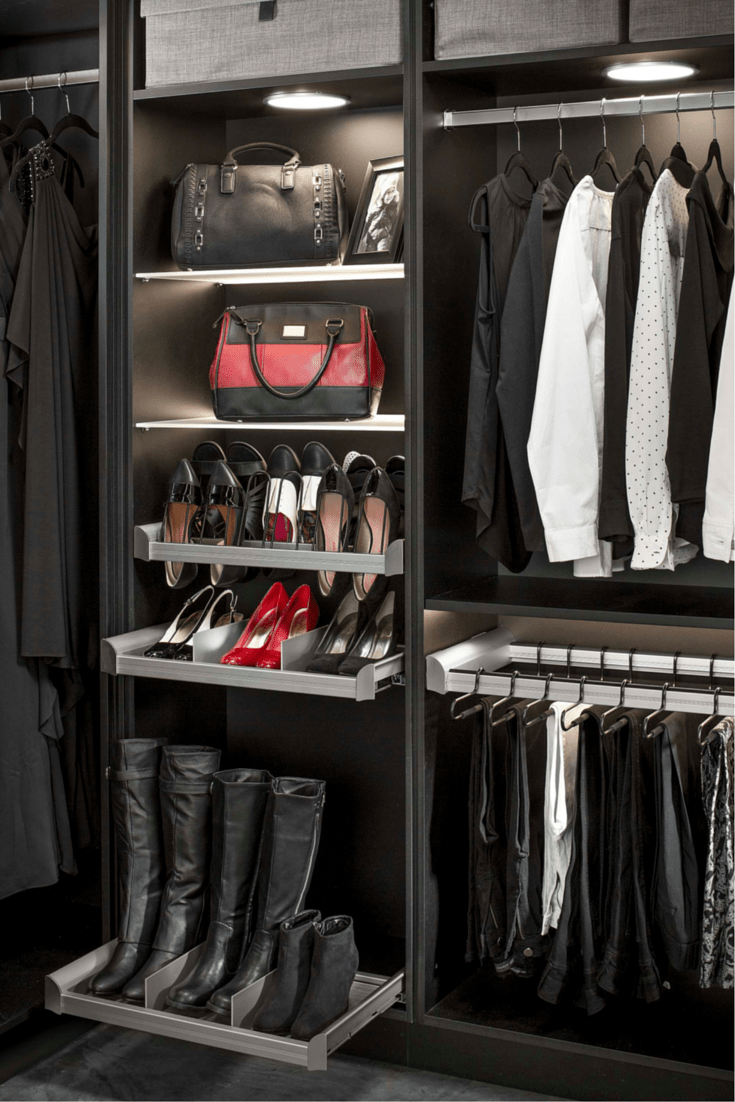 9 Storage Tricks For A Columbus Or Cleveland Walk In Closet Or Kitchen Remodel