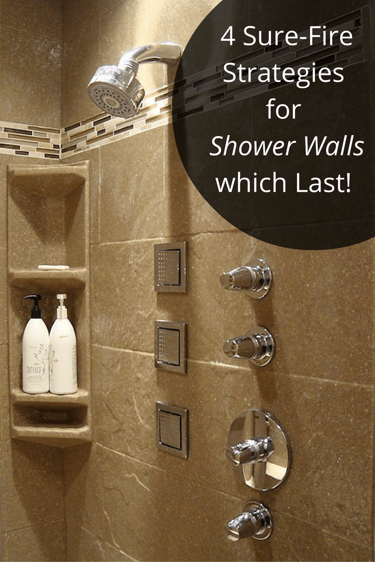 4 sure fire strategies for shower wall