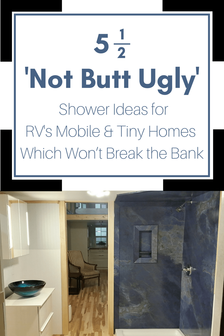 5 Stylish Shower Panel Amp Base Ideas For An RV Tiny Home Or Mobile Home Innovate Building