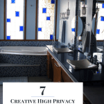 7 Creative High Privacy Bathroom Window Ideas So You Won T
