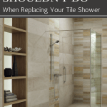 Tile Shower Base Wall Panel Replacement Ideas Innovate Building Solutions Bath Doctor Cleveland Columbus