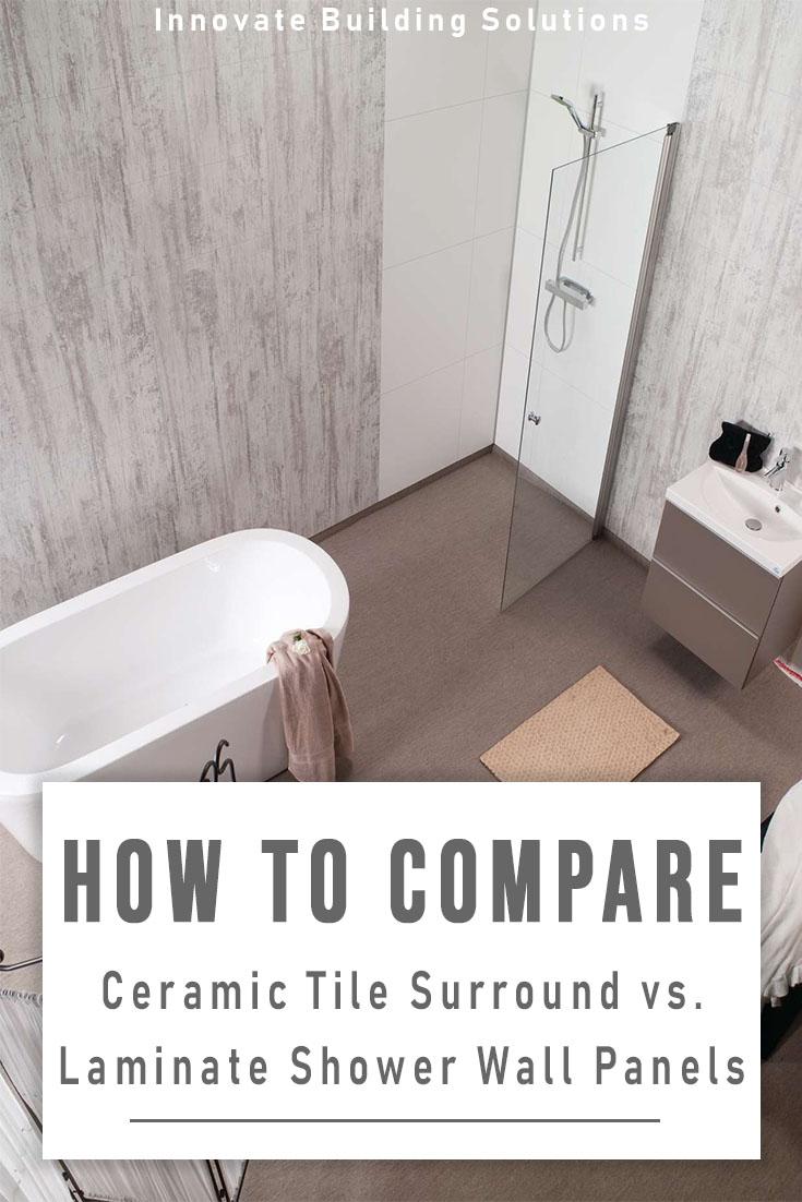 laminate bathroom shower wall panels