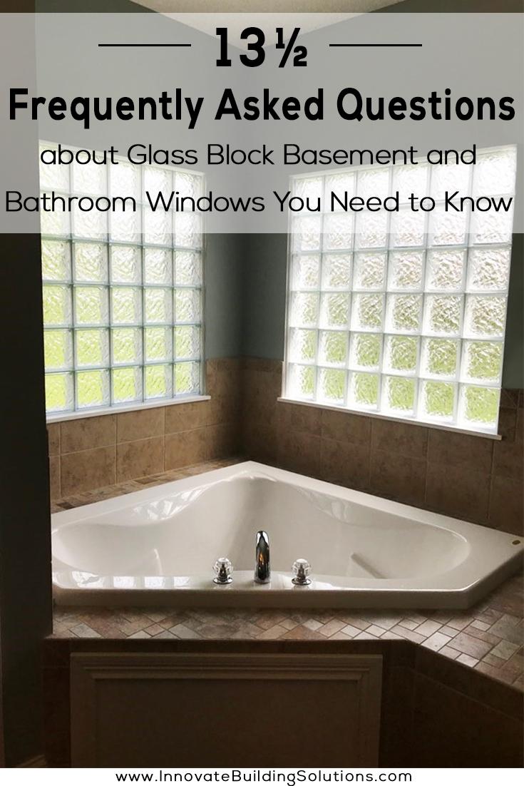 glass block basement