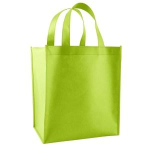 green non woven bag