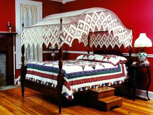 All Cotton Heirloom Bed Canopies