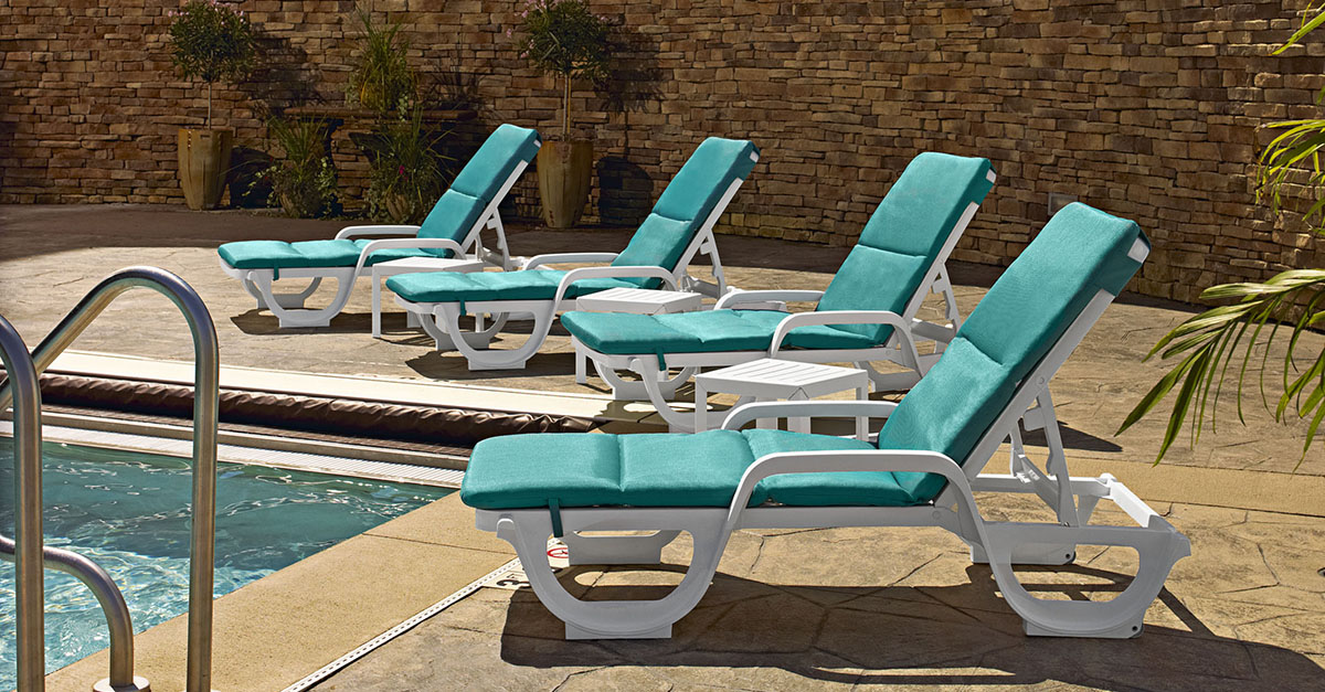How To Buy Outdoor Furniture For Your Hotel Or Restaurant. B Ahia Stacking  Adjustable Chaise