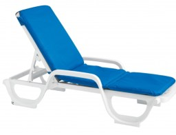 Chaise with hood