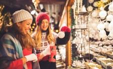 Shopping excursion toa Christmas market