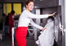 Housekeeping washing sheets