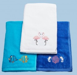 Velor Pool towel