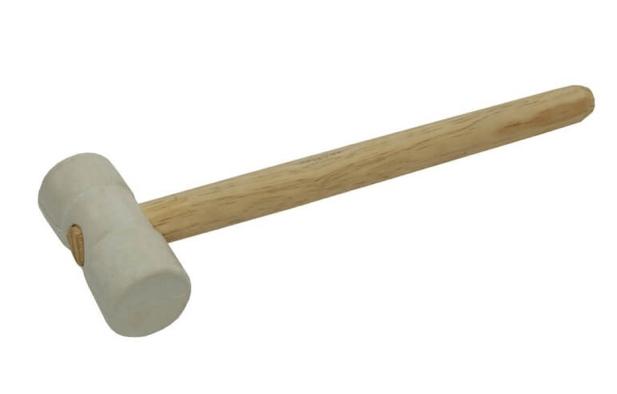 martelo de borracha