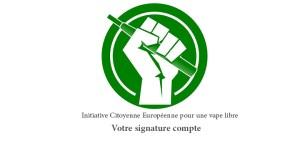 Signature Initiative Citoyenne Européenne