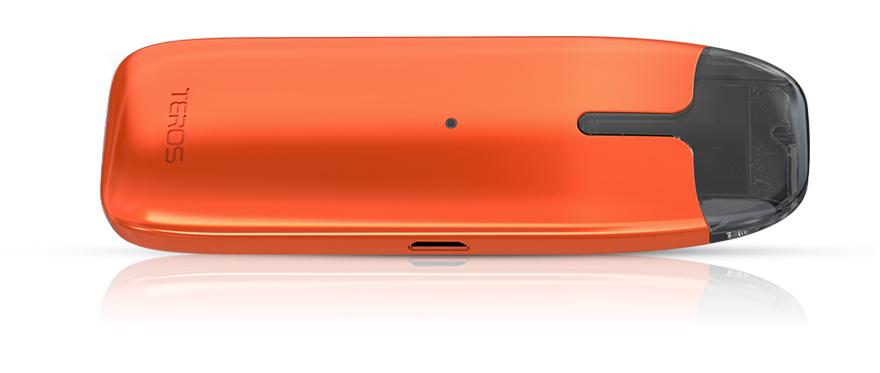 Teros de couleur orange à l'horizontale