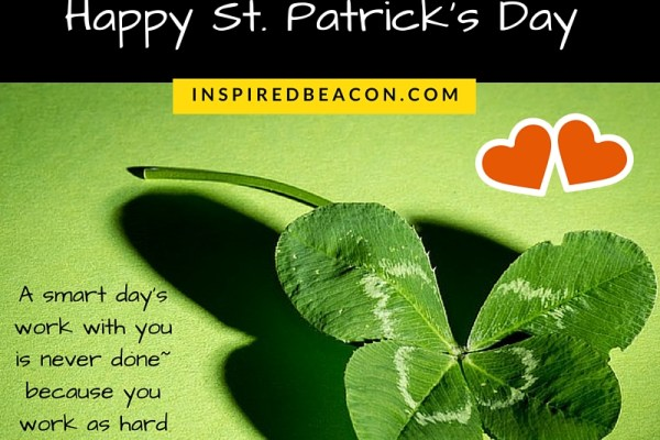 WE LOVE THE IRISH. Happy St. Patrick's Day