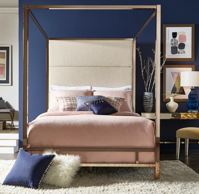 Shop some of our canopy beds here & Styling Inspiration: Modern Canopy Bed - Inspire Q Furniture