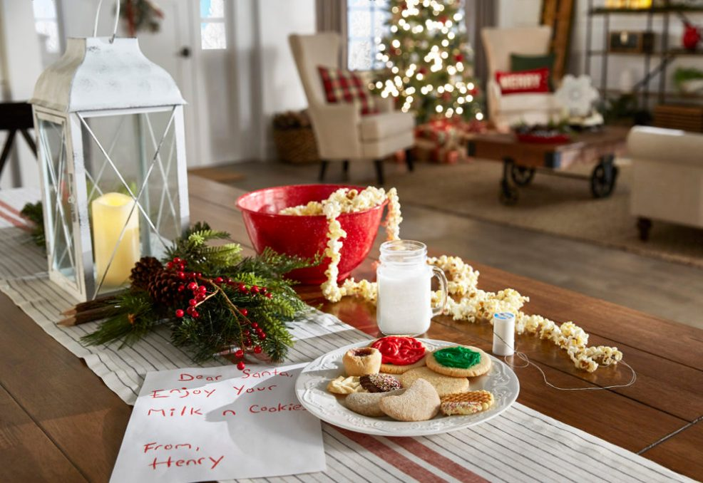 iNSPIRE Q Farmhouse Holiday Decor-- Christmas cookie countertop