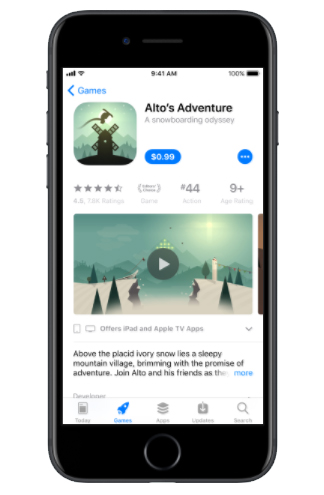 App Store iOS 11 Changes