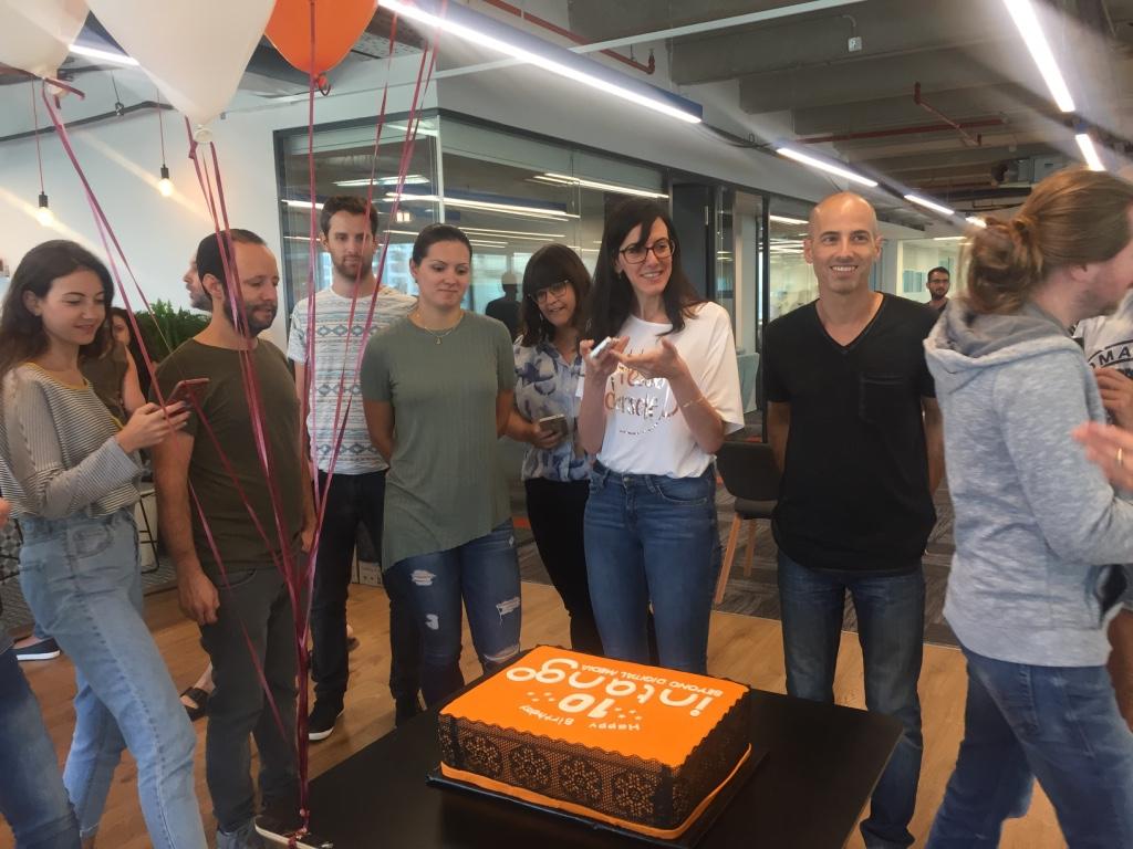 Intango's 10th anniversary party
