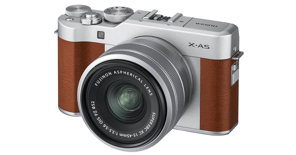 Fujifilm X-A5 main