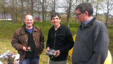 Radio FrSky Taranis- André Bernet, Fabien Delente, Laurent Michelet