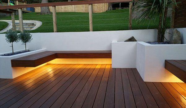 dramatic pool and patio lighting ideas