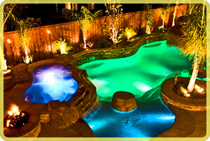 upgrade to color led pool lights
