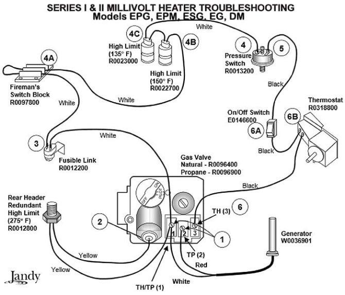 millivolt gas valve wiring diagram  top wiring diagram