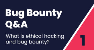 Bug Bounty Q&A #1: What is ethical hacking and bug bounty?