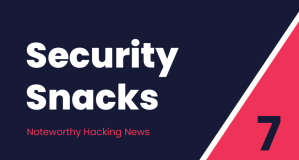 Security Snacks #7 – SEO ransomware, Vulnerability lifecycle & Stress blamed for email data breaches