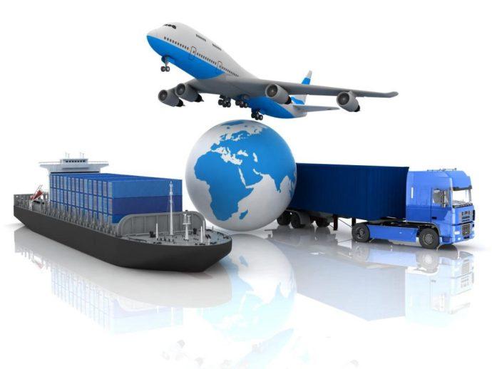 Transporte para exportação
