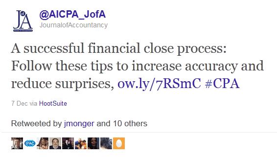 marketing on twitter - AICPA Journal of Accountancy