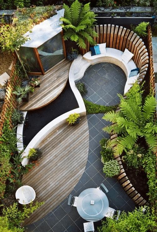 Pinterest garden image