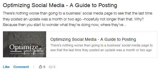 Optimizing Social Media - A Guide to Posting by Sara Howard