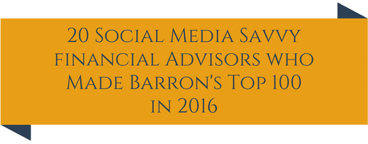 barrons top 100 social media savvy