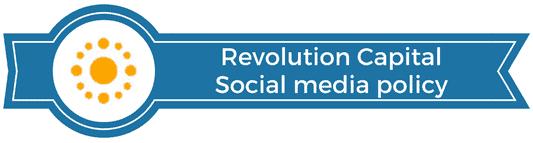 revolution capital social media policy