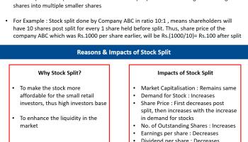 What is Stock Split?