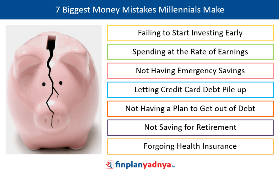 7 Biggest Money Mistakes Millennials Make