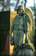 Sculpture on the cemetery_All Saint's Day