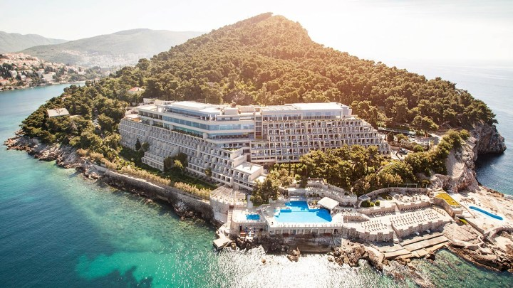 Luxury resort in a spectacular Croatian coastal location