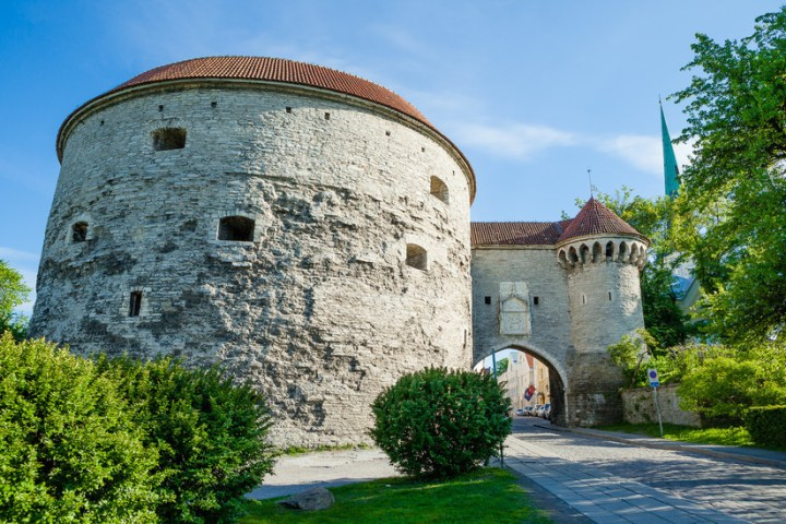 Tallinn Fortifications: A mighty fortress